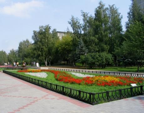 Сквер на ул. Никиты Рыбакова