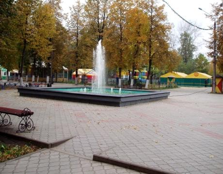 Фонтан в Сормовском парке