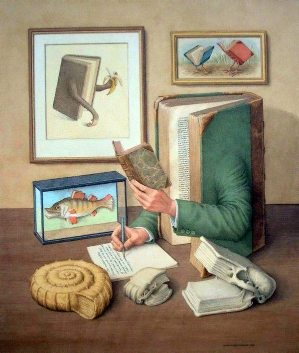 Как художники рисуют картины для книг