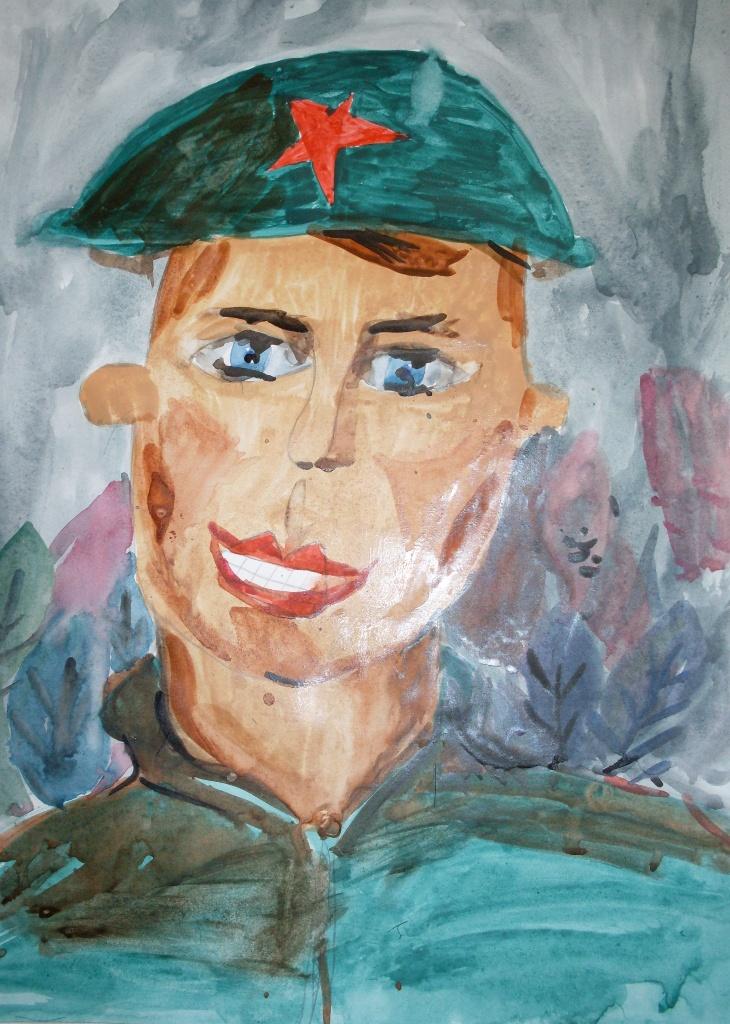 Солдат портрет картинка